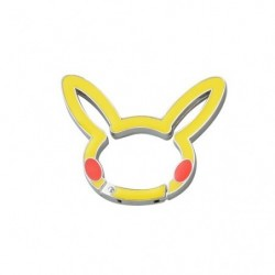 Carabiner Pikachu Face japan plush
