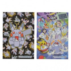 Carte Postale Pokémon Set X2 Rikakei no Otoko japan plush