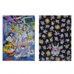 A4 Pochette plastique Set x2 Pokémon Rikakei no Otoko japan plush