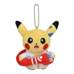 Plush Pikachu Rikakei no Otoko Keychain japan plush