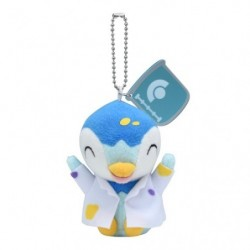 Plush Piplup Rikakei no Otoko Keychain japan plush