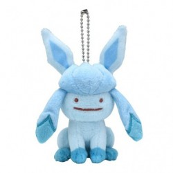 Plush Ditto Glaceon Keychain japan plush
