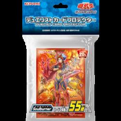 YuGiOh Protège-cartes Soulburner japan plush