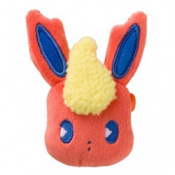 Face Badge Mix au Lait Flareon japan plush