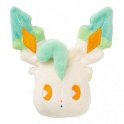 Face Badge Mix au Lait Leafeon japan plush