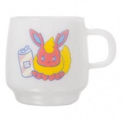 Mug Cup Mix Au Lait Flareon japan plush