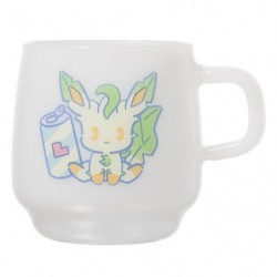 Mug Cup Mix Au Lait Leafeon japan plush