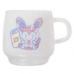 Mug Cup Mix Au Lait Sylveon japan plush