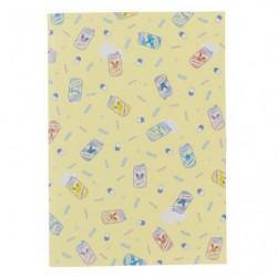 A5 Cahier Note Mix au Lait Pattern japan plush