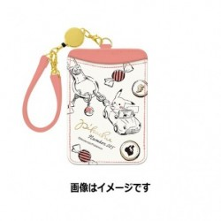Single Pass Case Pikachu number 025 Together japan plush
