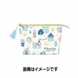 Tissu Pochette Pikachu number 025 japan plush
