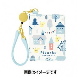 Pass Case Pikachu number 025 japan plush