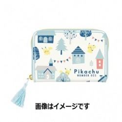 Coin Card Case Pikachu number 025 japan plush