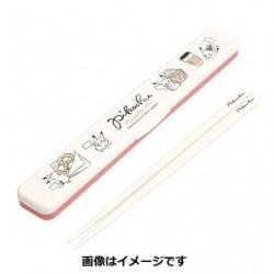 Set Chopstick Pikachu number 025 Together japan plush