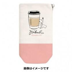 Bottle Case  Pikachu number 025 Together japan plush