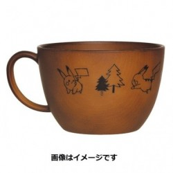 Soup Mug Cup Pikachu number 025 japan plush