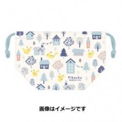 Lunch Bag Pikachu number 025 japan plush