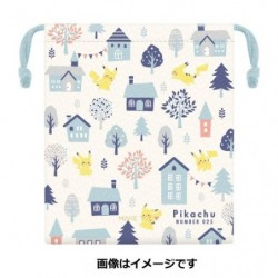 Small Pocket Pikachu number 025 japan plush