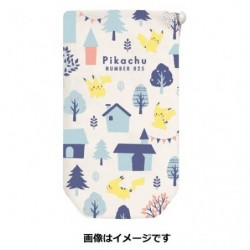 Bottle Case Pikachu number 025 japan plush