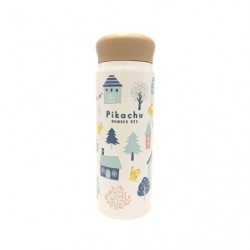 Stainless Bottle Pikachu number 025 japan plush