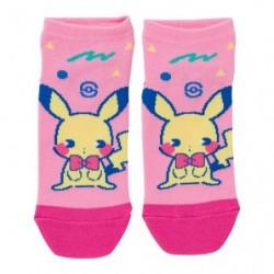 Chaussettes Courtes Mix au Lait Pikachu japan plush