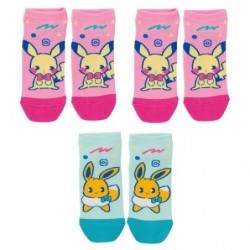 Short Socks Mix au Lait Q1 japan plush