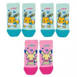 Short Socks Mix au Lait Q2 japan plush