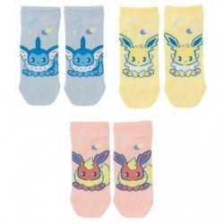 Short Socks Mix au Lait Q3 japan plush