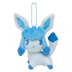 Plush Keychain Glaceon Mix au Lait japan plush