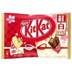 Kit Kat Mini Red White Edition japan plush