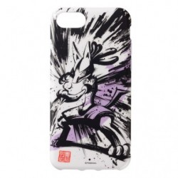 Coque souple for iPhone Calligraphie Lucario Sumie Retsuden japan plush