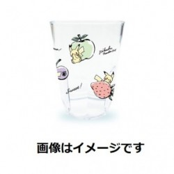 Tumbler Transparent Pikachu number 025 Fruits japan plush