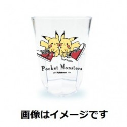 Tumbler Transparent Pikachu number 025 Sneaker japan plush