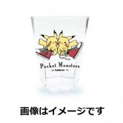 Tumbler Transparent Pikachu number 025 Sneaker japan plush