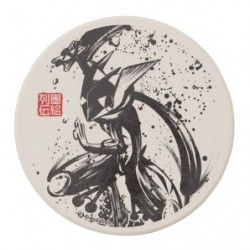Coaster Greninja Calligraphy Sumie Retsuden japan plush