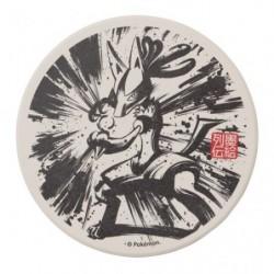 Coaster Lucario Calligraphy Sumie Retsuden japan plush