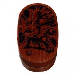 Circular Bento Box Lucario Calligraphy Sumie Retsuden japan plush