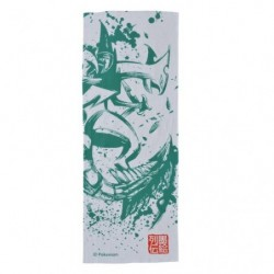 Tenugui Mega Sceptile Calligraphy Sumie Retsuden japan plush