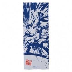 Tenugui Lucario Calligraphie Sumie Retsuden japan plush