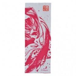Tenugui Mega Gallame Calligraphie Sumie Retsuden japan plush