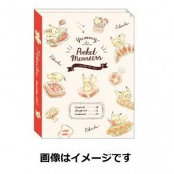 Book Note Pan Pikachu number025 japan plush