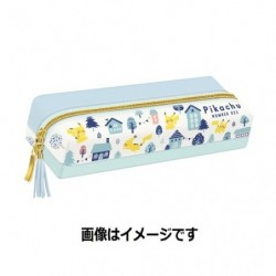 Pen Case Pikachu number025 japan plush