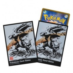 Card Sleeves Pokémon Garchomp Calligraphy Sumie Retsude japan plush