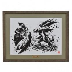 Art Pokemon Calligraphy Sumie Retsuden B japan plush