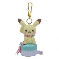 Porte-clés Pikachu Male fluffy little pokémon japan plush