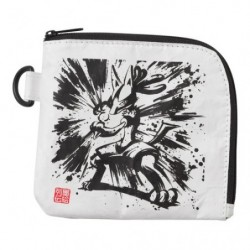 Coin Case Lucario and Zeraora Calligraphy Sumie Retsuden japan plush