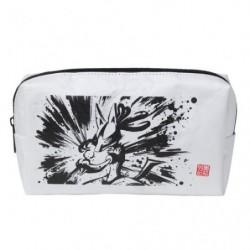 Pochette Lucario and Zeraora Calligraphie Sumie Retsuden japan plush