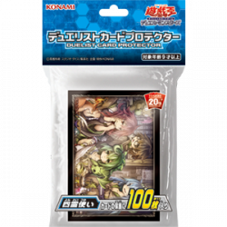 YuGiOh Card Sleeve Four Spirit japan plush