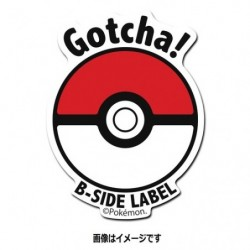 Sticker Pokeball japan plush