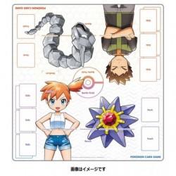 Playmat Pierre Ondine Pokemon Carte